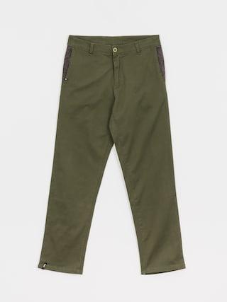 Kalhoty Malita Chino Loose (olive)