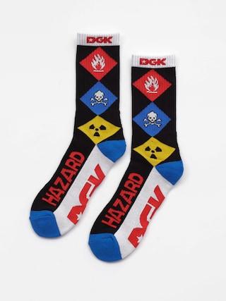 Ponožky DGK Hazardous Crew (black)