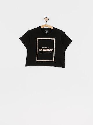 Tričko Vans Leila Wmn (black)