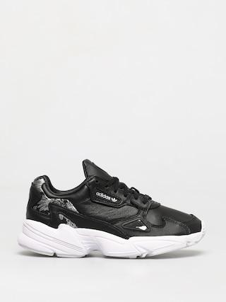 Boty adidas Originals Falcon Wmn (core black/core black/silver met)