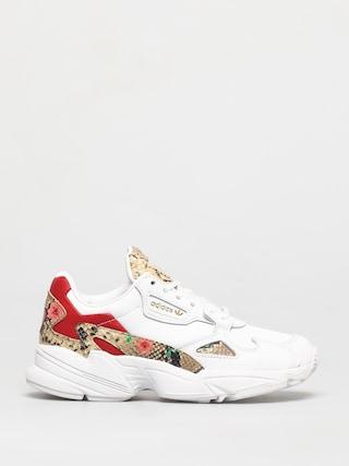 Boty adidas Originals Falcon Wmn (white/scarlet/gold met)