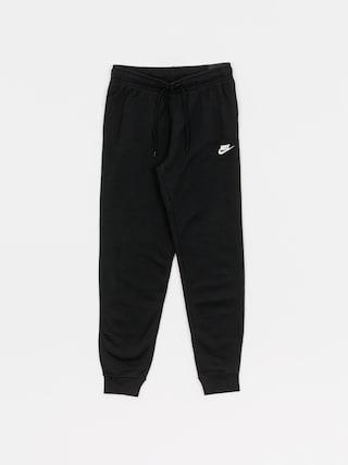 Kalhoty Nike Essntl Pant Reg Flc Wmn (black/white)