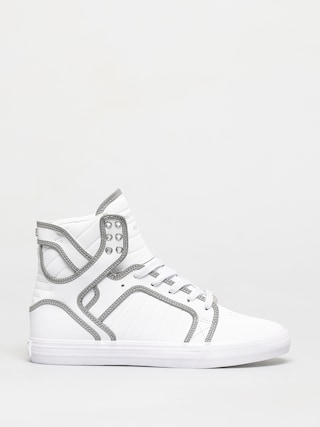 Boty Supra Skytop (white/reflect white)