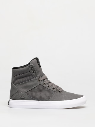Boty Supra Aluminum (grey/black white)