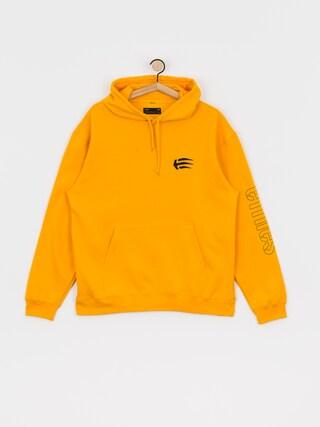 Mikina s kapucu00ed Etnies Joslin HD (yellow)