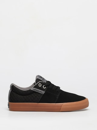 Boty Supra Stacks Vulc II (black/grey gum)