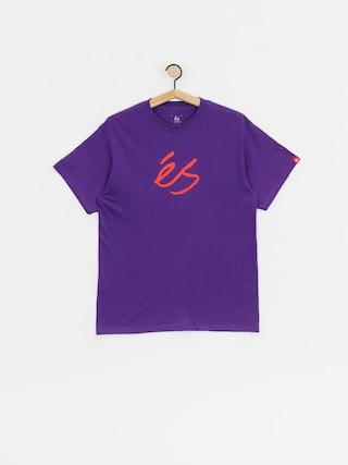 Tričko eS Scrip Mid (purple)