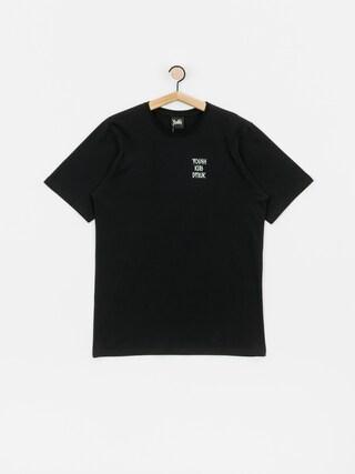 Tričko Youth Skateboards X Kult Dybuk (black)