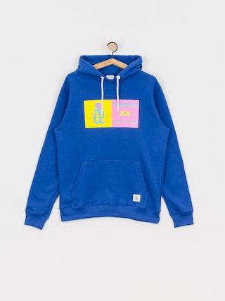 Mikina s kapucí Tabasko Neon HD (blue)