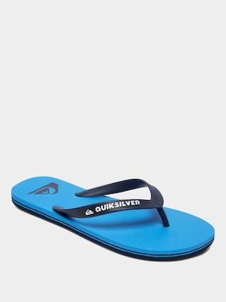 Plu00e1u017eovky Quiksilver Molokai (blue/blue/blue)