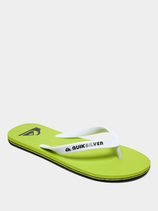 Plu00e1u017eovky Quiksilver Molokai (black/green/green)