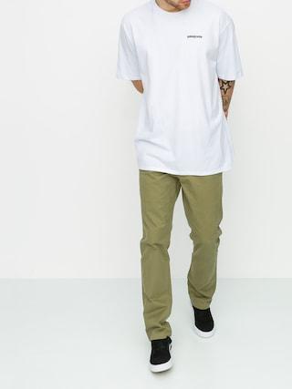 Kalhoty Volcom Frickin Slim Chino (mossstone)