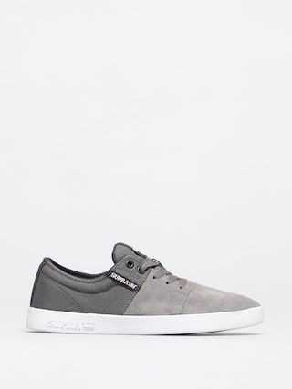 Boty Supra Stacks II (grey/navy white)