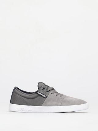 Boty Supra Stacks II (grey/navy white)