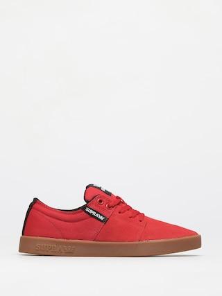 Boty Supra Stacks II (red gum)