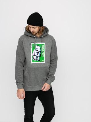 Mikina s kapucí Tabasko Post HD (grey heather)