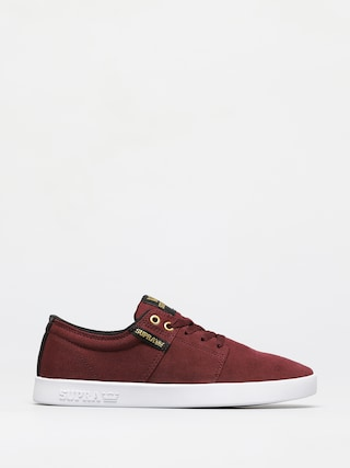 Boty Supra Stacks II (wine white)