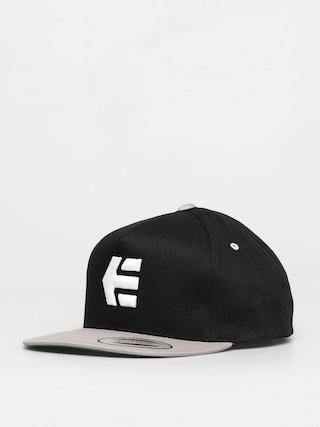 Kšiltovka  Etnies Icon Snapback ZD (black/silver)