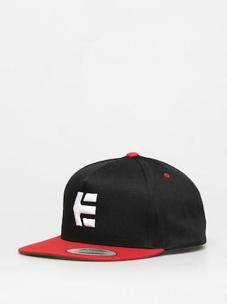 Ku0161iltovka  Etnies Icon Snapback ZD (black/red)