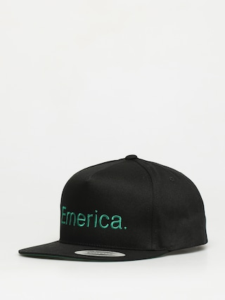 Kšiltovka  Emerica Pure Snapback ZD (black/green)