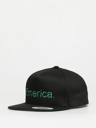 Ku0161iltovka  Emerica Pure Snapback ZD (black/green)