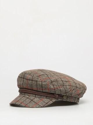 Klobouk s kšiltem Brixton Fiddler Cap (dark brown)