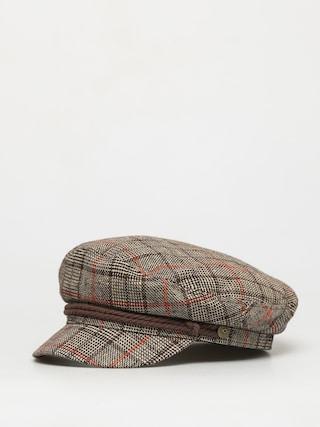 Klobouk s ku0161iltem Brixton Fiddler Cap (dark brown)