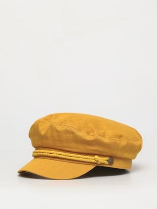 Klobouk s kšiltem Brixton Fiddler Cap (honey)