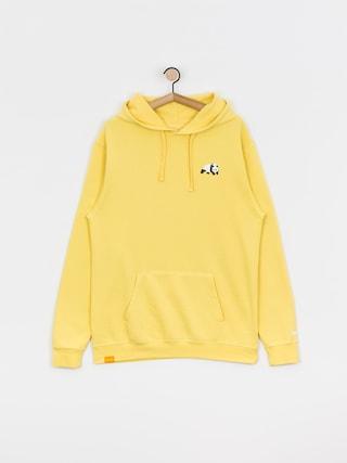 Mikina s kapucí Enjoi Premium Panda HD (yellow)