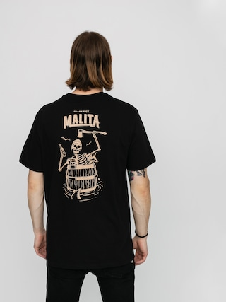 Tričko Malita Castaway (black)