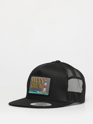 Kšiltovka  Salty Crew Point Loma Trucker ZD (black)