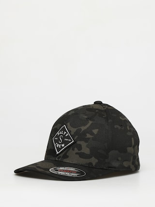 Kšiltovka Salty Crew Tippet Stamped 6 Panel ZD (multicam black)