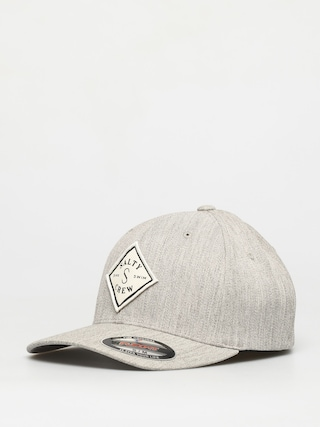 Kšiltovka Salty Crew Tippet Stamped 6 Panel ZD (heather grey)