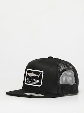 Kšiltovka  Salty Crew Farallon Retro Trucker ZD (black)