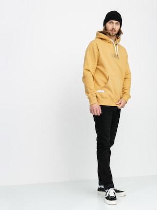Mikina s kapucí Elade Box Logo HD (beige)
