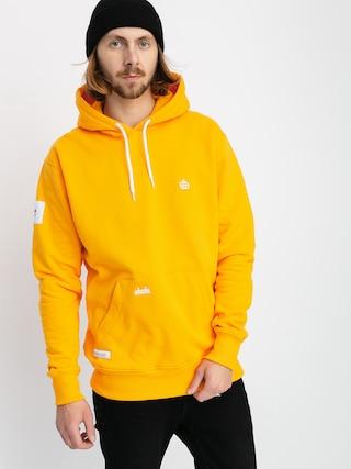 Mikina s kapucí Elade Icon Mini Logo HD (saffron)
