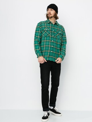 Kou0161ile Brixton Bowery Lw Flannel Ls (fern)