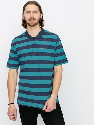Polo triu010dko Brixton Hilt II Knit (aqua/washed navy)