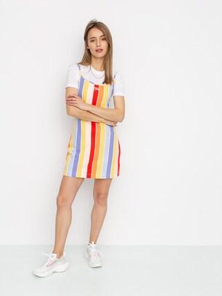Šaty  Nike Sportswear Stripe Wmn (track red)