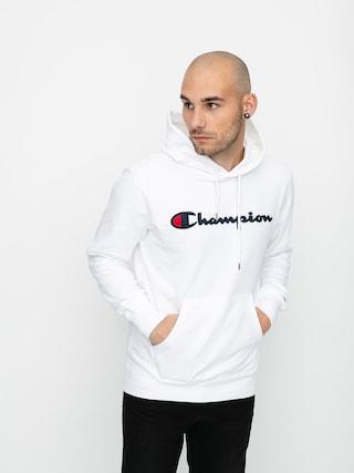 Mikina s kapucu00ed Champion Sweatshirt HD 214183 (wht)