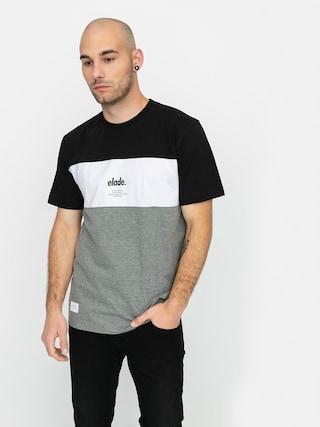 Tričko Elade Colour Block (black/white/grey)