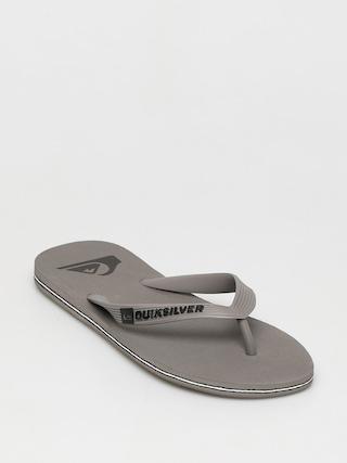 Plážovky Quiksilver Molokai (grey/grey/grey)