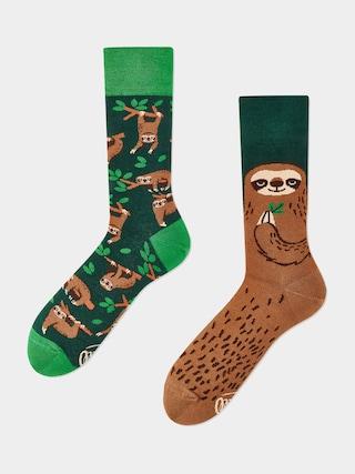 Ponožky Many Mornings Sloth Life (gree/brown)