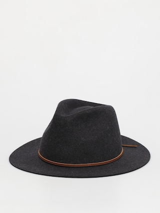 Klobouk Brixton Wesley Fedora (heather/black)