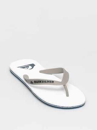 Plážovky Quiksilver Molokai (grey/grey/white)