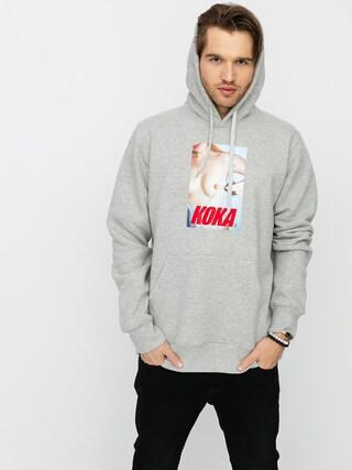 Mikina s kapucu00ed Koka Swimsuit HD (heather grey)