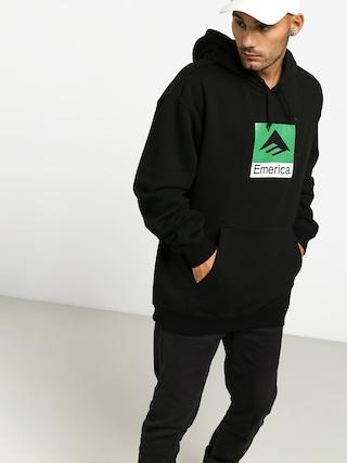 Mikina s kapucí Emerica Classic Combo HD (black)