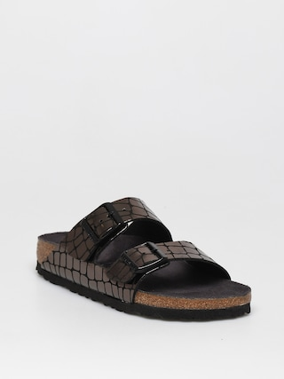 Sandaly Birkenstock Arizona Wmn (gator gleam black)