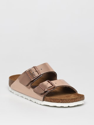 Sandaly Birkenstock Arizona Wmn (metallic copper)