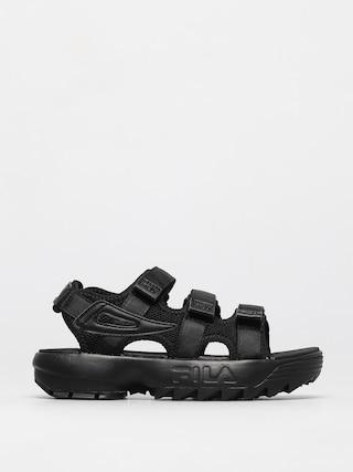Sandaly Fila Disruptor Sandal Wmn (black/black)